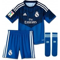 Camiseta de Fútbol ADIDAS Portero Real Madrid 2014-2015 Minikit Niño S05459