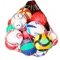 Portabalones de Fútbol JS red porta 20 balones 0004117