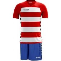 Equipación de Fútbol HUMMEL Essential Authentic H Striped P-E03-020-3946