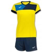 Equipación Mujer de Fútbol JOMA Crew II Woman P-900385.903