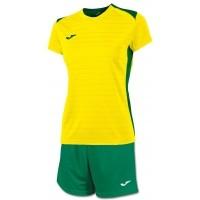 Equipación Mujer de Fútbol JOMA Campus II Woman P-900242.915