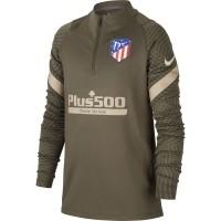Sudadera de Fútbol NIKE Atlético de Madrid Strike 2020-2021 Niño CD5300-326