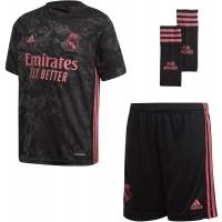 Camiseta de Fútbol ADIDAS 3ª Equipación Real Madrid 2020-2021 Minikit Niño FQ7476