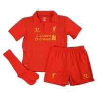Camiseta Warrior  Liverpool minikit 2012-2013