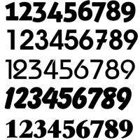 Varios Número Diseño Cliente