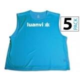 Peto de Fútbol LUANVI Pack 5 unidades 06268-0196