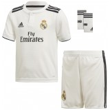 Camiseta de Fútbol ADIDAS Mini Kit 1ª Equipación Real Madrid 2018-19 LFP CG0538