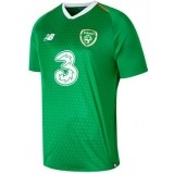 Camiseta de Fútbol NEW BALANCE 1ª Equipación Irlanda 2018-2019 MT830195