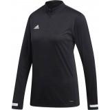 Camiseta Entrenamiento de Fútbol ADIDAS Team 19 1/4 Zip Woman DW6851