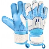 Guante de Portero de Fútbol HOSOCCER Basic Protek Flat Blue Spark 051.0759