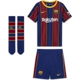 Camiseta de Fútbol NIKE 1ª Equipación FC Barcelona 2020-2021 Minikit Infantil CD4590-456