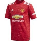 Camiseta de Fútbol ADIDAS 1ª Equipación Manchester United 2020-2021 Niño FM4292