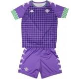 Camiseta de Fútbol KAPPA 2ª Equipación Real Betis 2020-2021 Kit Bebé 3118ZNW-A01