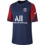 Camiseta de Fútbol NIKE Paris Saint-Germain Strike 2020-2021 Niño  CD5206-411