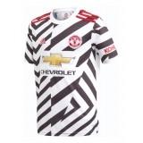 Camiseta de Fútbol ADIDAS 3º Equipación Manchester United 2020-2021 Niño  FM4269