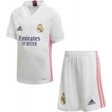 Camiseta de Fútbol ADIDAS 1ª Equipación Real Madrid 2020-2021 Minikit Infantil FQ7487