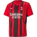 Camiseta de Fútbol PUMA 1ª Equipación AC Milán 2021-2022 Junior 759123-01