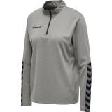 Sudadera de Fútbol HUMMEL HmlAutenthic Half Zip Sweatshirt 204929-2006