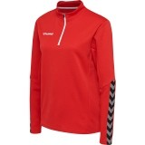 Sudadera de Fútbol HUMMEL HmlAutenthic Half Zip Sweatshirt 204929-3062