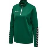 Sudadera de Fútbol HUMMEL HmlAutenthic Half Zip Sweatshirt 204929-6140