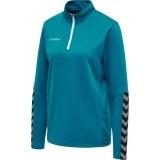 Sudadera de Fútbol HUMMEL HmlAutenthic Half Zip Sweatshirt 204929-8745