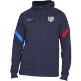 Sudadera de Fútbol NIKE FC Barcelona 2021-2022 Hoodie CV9940-451