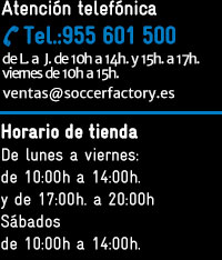 7b4047d546fb4 Soccerfactory - Tienda de Equipaciones