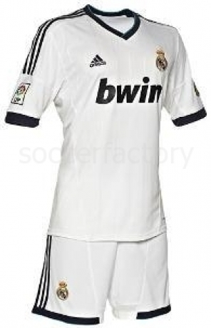 Camiseta adidas Real Madid bebe 2012-2013