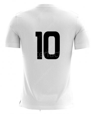 Varios Número Camisa en Vinilo Espalda