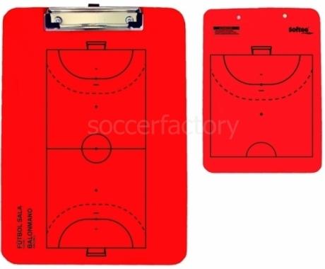 Pizarra JS Carpeta táctica veleda fútbol sala / Balonmano reversible