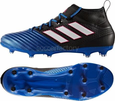 Botas De Futbol Adidas Azules Y Blancas