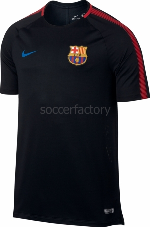 76a8121e082cd Camisetas Nike F.C. Barcelona 2017-2018 Breathe Squad 854253-011