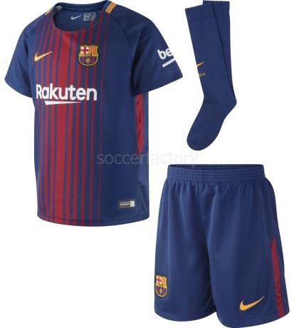 Camiseta de Fútbol NIKE Kit 1ª Equipación F.C. Barcelona 2017-2018  847355-456 84191581188
