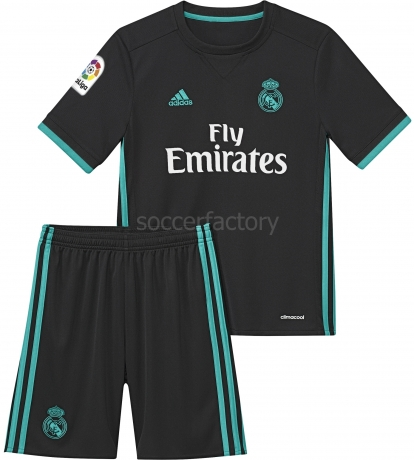 Camiseta de Fútbol ADIDAS Mini Kit 2ª Equipación R. Madrid 2017-2018 B31094 5f5f91faab8ea