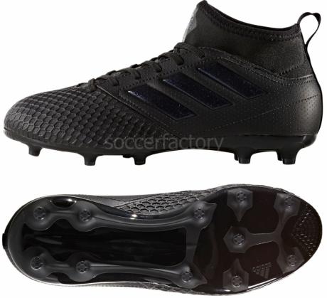 Botas De Futbol Adidas Negras