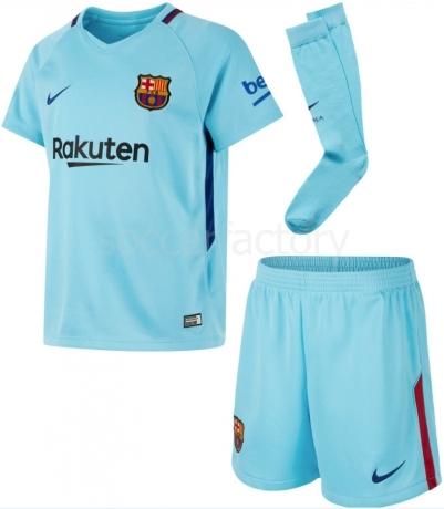 09e592180c Camiseta de Fútbol NIKE Kit 2ª Equipación F.C. Barcelona 2017-2018  847354-484