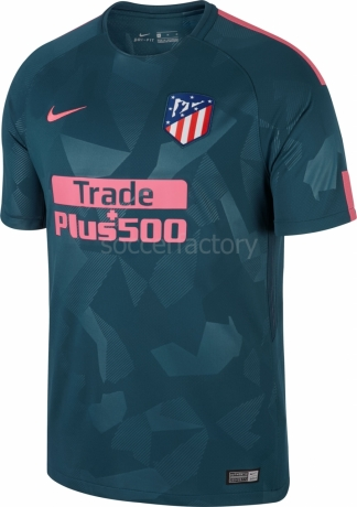 Camiseta de Fútbol NIKE 3ª equipación Atco de Madrid 2017-2018 851468-426 642d0694620
