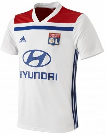 Camisetas adidas 1ª Equipación Olympique de Lyon 2018-19 CK3171 82644777be16b