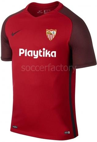 Camisetas Nike 2ª Equipación Sevilla F.C. Niño 2018-19 833018-657 136759cba48