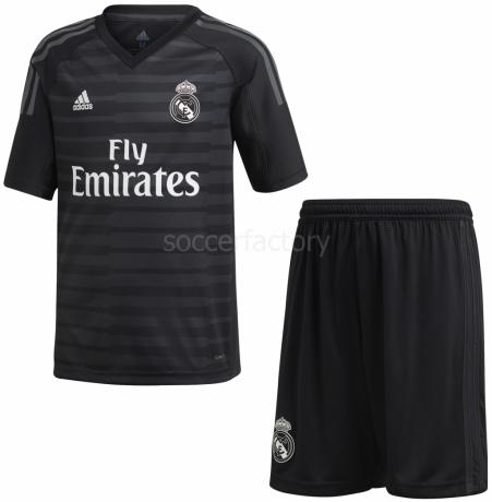 b5fa01c6251ae Camisetas adidas 1ª Equipación Portero Junior Real Madrid 2018-19 CG0568