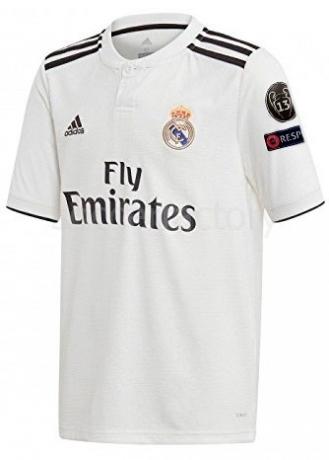 Camisetas adidas 1ª Equipación Real Madrid CF 2018-2019 Champions CJ9290 ddc3e695da0c1