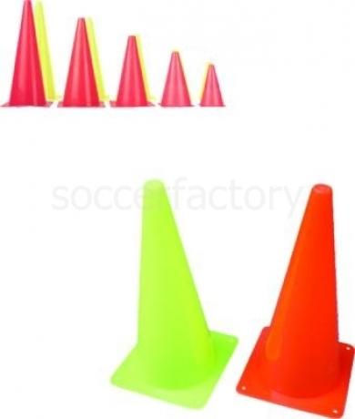 Varios Conos Semirígidos en PVC 38 cms