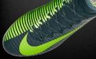 Botas de Fútbol Nike CR7 Gris / Amarillo Flúor