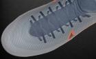Botas de Fútbol Nike Mercurial Gris / Naranja Flúor