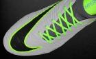 Botas de Fútbol Nike Hyper Venom Gris / Verde Flúor