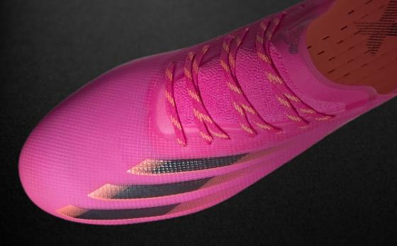 Botas de Fútbol adidas X Rosa / Negro