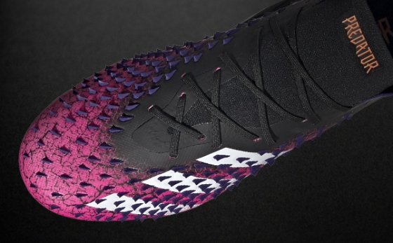 Botas de Fútbol adidas Predator Negro / Rosa