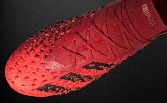 Botas de Fútbol adidas Predator Rojo / Negro