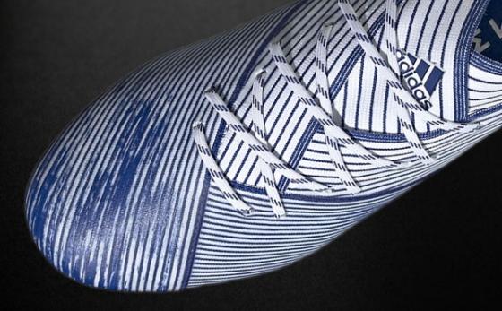 Botas de Fútbol adidas NEMEZIZ Blanco / Azul Royal
