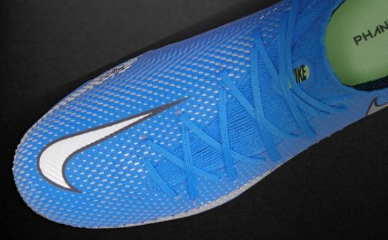 Botas de Fútbol Nike Phantom Celeste / Plata